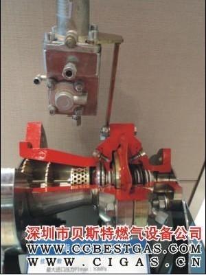 调压器原理 减压阀结构 调节阀剖面图 燃气调压器 调图片
